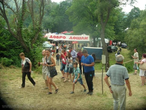 В белоградчишкото село Салаш започна подготовката за събора Кадъ боаз