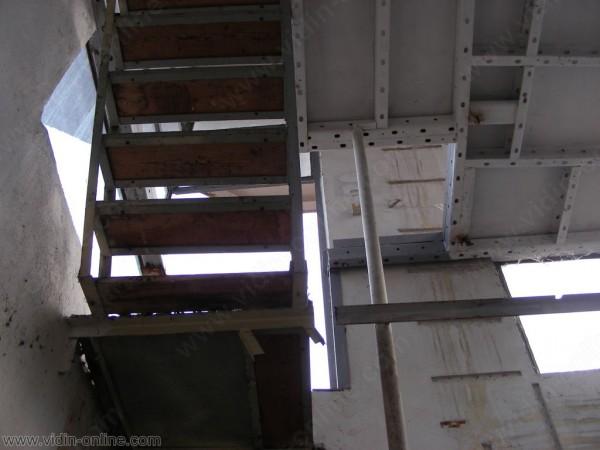 Срязаната стълба към кулата