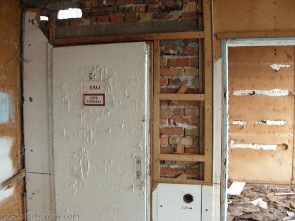 вратата към кулата - вход забранен