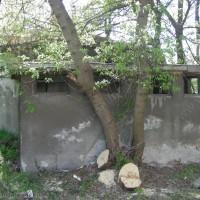 Помпена станция в двора на старата болница
