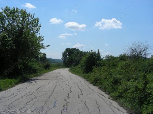 Деветкилометрова отсечка на пътя от село Делейна за Видин ще бъде ремонтирана през тази година