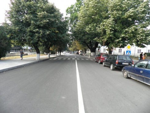 Откъсната от дъждовете е улица в град Кула, отвеждаща към пътя за град Грамада