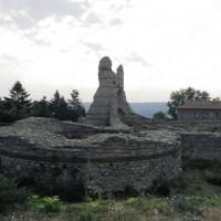 Останки от крепостта в Кула