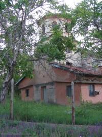 Църквата в село Майор Узуново