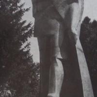 Паметник на Крум Бъчваров в град Белоградчик