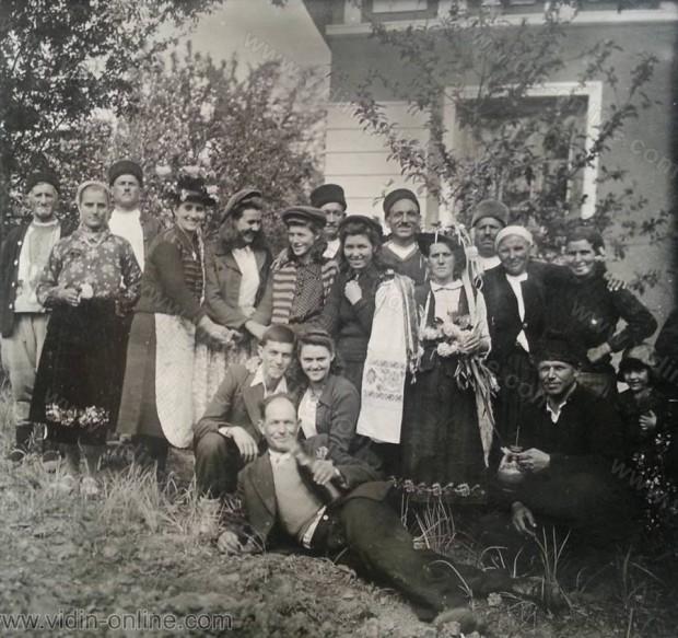 Сватба в Брегово около 1942г.