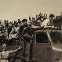 Чупрене - камион с граничари (или вътрешни войски)