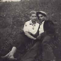 Лина Филиповска и Коцо Тонин през 1935 г