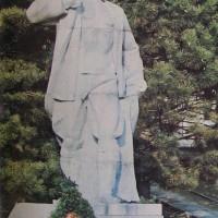 Паметник на Живко Пуев - Димо първият командир на отряд Георги Бенковски в Димово