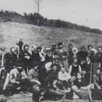 Залесяване на местността ПОПАДИЯ край Димово 1942г.