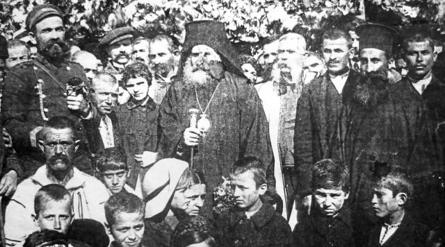 8 септември 1915г - откриването на Първия грамадски панаир в присъствието на НВП Видински Митрополит Неофит и кмета Мико Гицов
