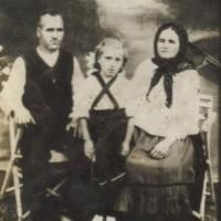 Стари снимки на село Сланотрън