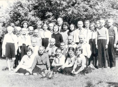 Класът на Йоло Георгиев – набор 1952 г., фото 1962г