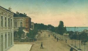 Крайдунавският булевард и хотел Европа - Видин
