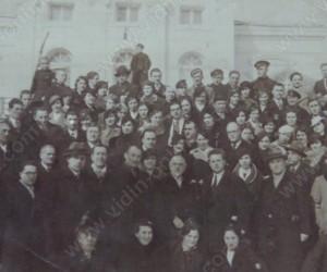 Участници в любилейния концерт на композитора Добри Христов във Видин 1936г.