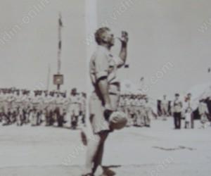 о.з Рашко Бораджиев пред конгрес на дружество Червен Кръст и Българския младежки Червен Кръст 21.08.1938