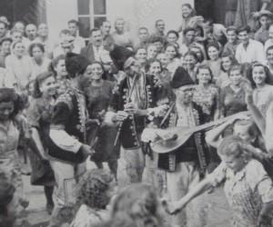 Празник във фабрика ЗАГОРКА - Видин 1943г.