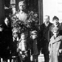 Откриване на паметника на Васил Левски във Видин на 19 февруари 1938