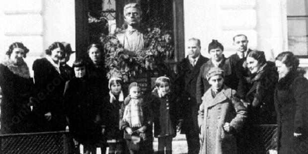 Откриване на паметника на Васил Левски на 19 февруари 1938