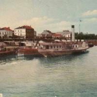 град Видин от към Дунав
