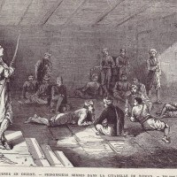 Български затворници в крепостта