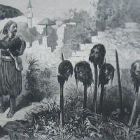Отрязани глави на видински въстаници 1876г