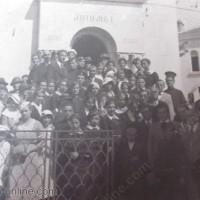 ВИДИН 1934 г. Освещаване на мавзолея АНТИМ 1
