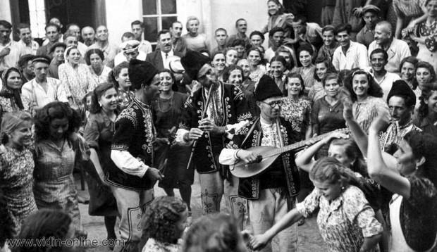 празник във фабрика Загорка Видин 1943