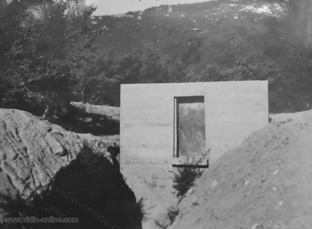 Главният резервоар за градския водопровод в град Белоградчик - Сухата Камара - построен през 1937г
