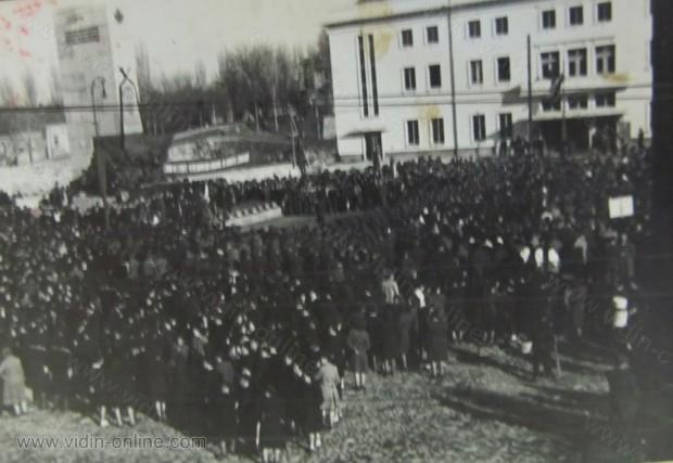 Панахида на руски войници в центъра на Видин
