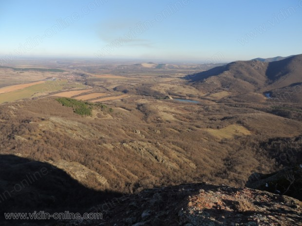 Панорама от върха