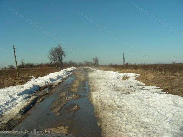 Големаново през зимата