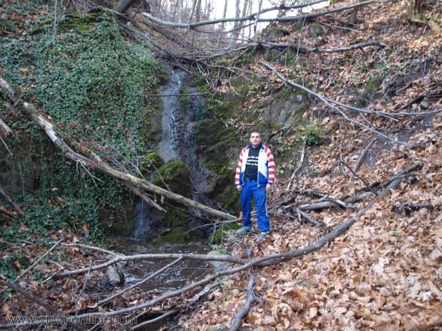 Водопад в местност Пръвчин дол до село Раяновци