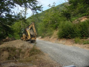 ремонт на пътя