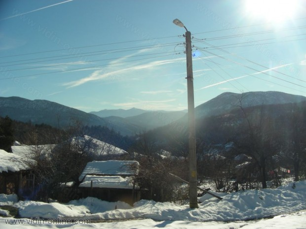 връх Големата стена в село Праужда
