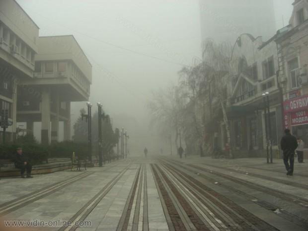 Мъгла във Видин