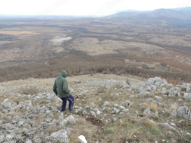 Спускане от връха