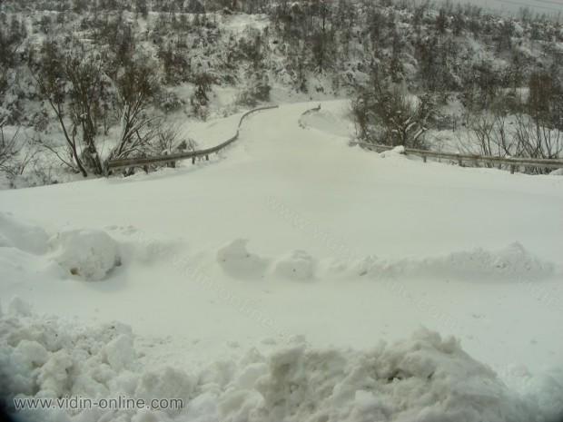 Снегопочистването в Белоградчик е по-трагично и от Видинското