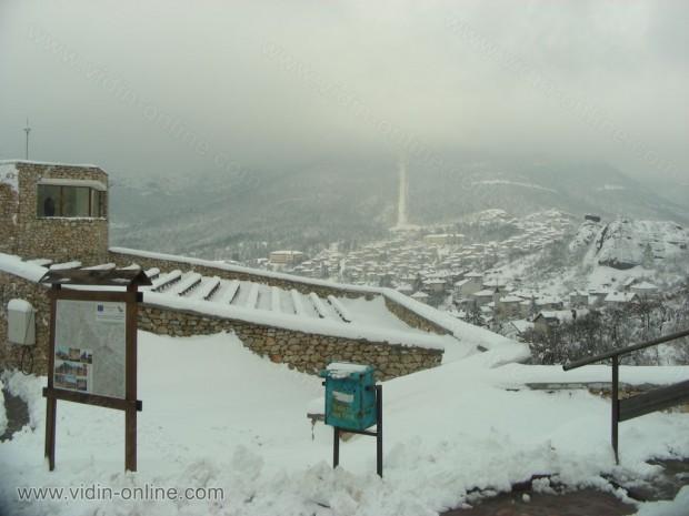 Изглед от крепостта Калето в Белоградчик