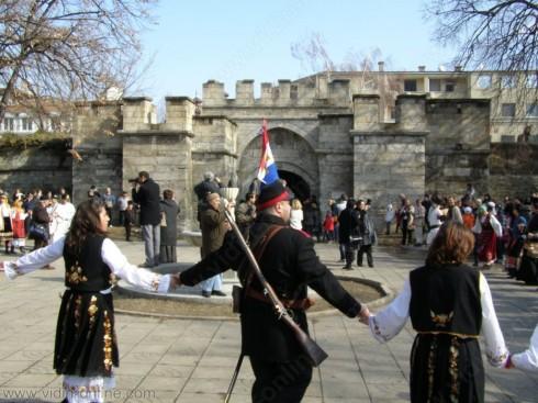Община Видин отбеляза Националния празник 3 март с историческа възстановка