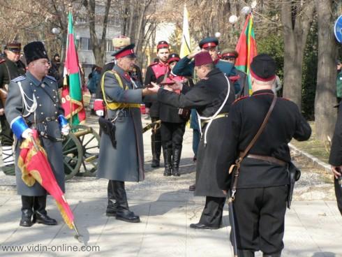 Във Видин отбелязаха 3 март с историческа възстановка
