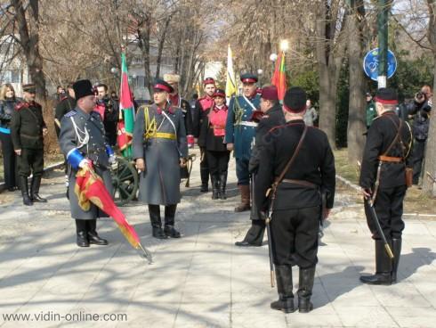 Жителите на Видин отбелязаха 136 години от Освобождението на България