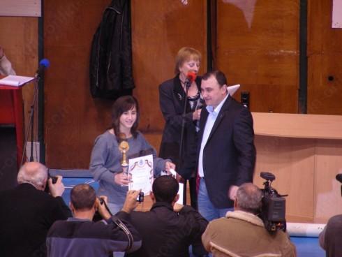 Цветелина Цветанова от Спортен клуб Борба, самбо, джудо е спортист №1 на Видин