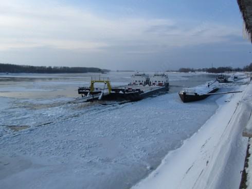 60 % достигна ледоходът по река Дунав при Ново село и Видин