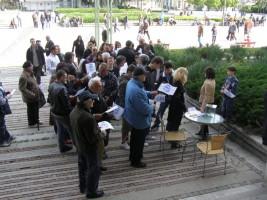 100 души събра вторият протестен митинг, организиран от Инициативен комитет - Да спрем унищожаването на Видин