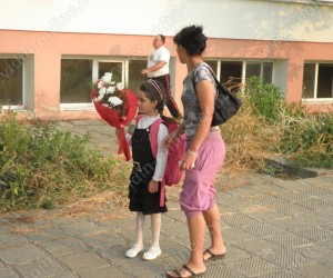 първи учебен ден за Памела Вълчева