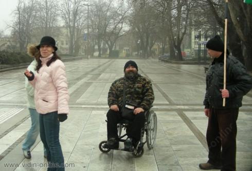 Даниел Дамянов, инициатор на протеста