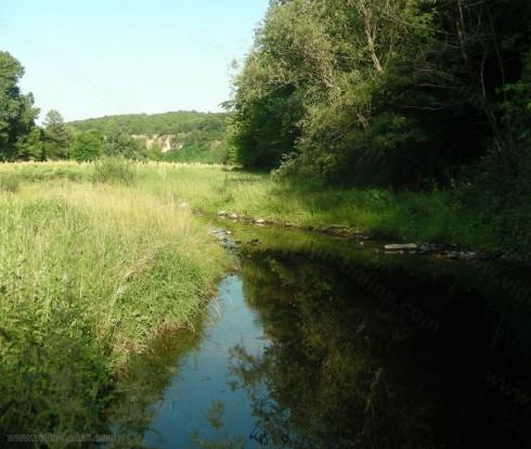 Покачило се е нивото на река Арчар в град Димово