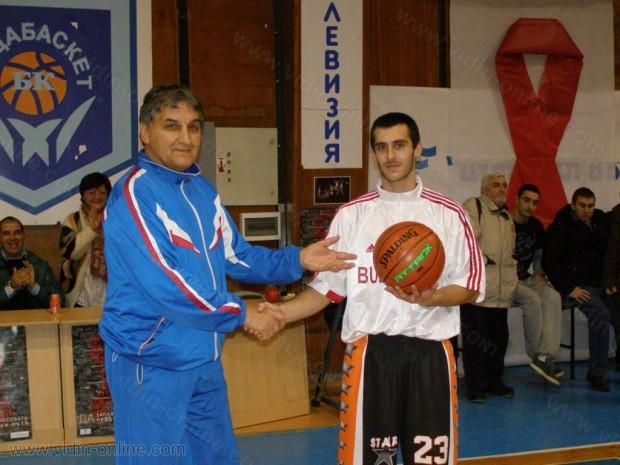 Баскетболна среща Севера срещу Юга в град Видин