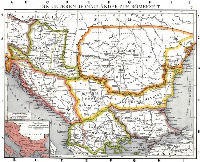 Провинциите на Римската империя (Limes Ripensis)